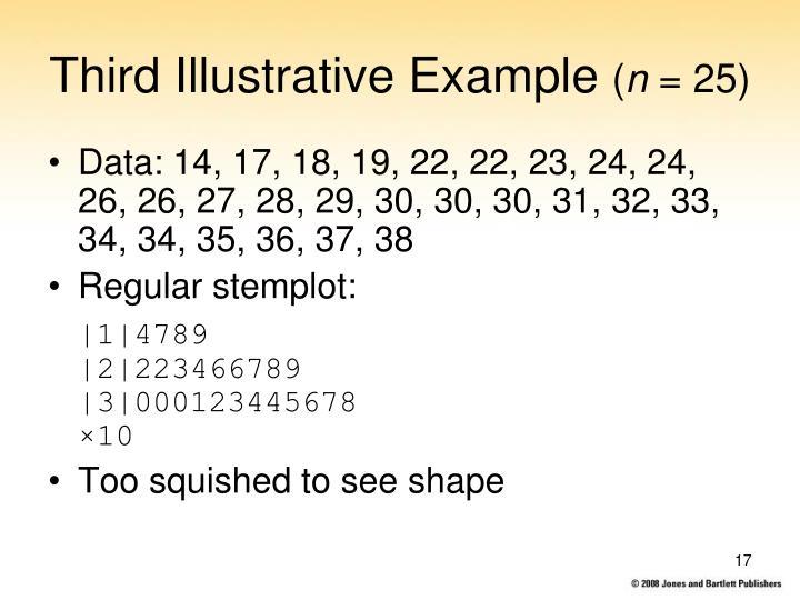 Third Illustrative Example