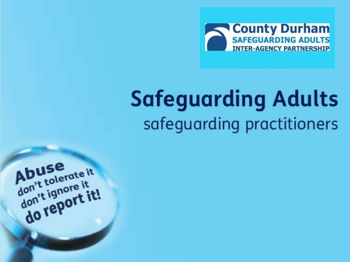Safeguarding practitioners