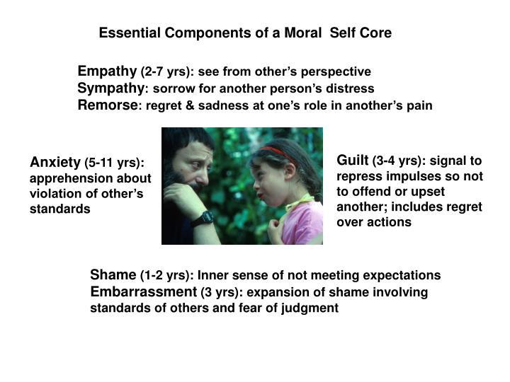 Moral self core