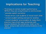 implications for teaching2