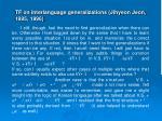tf on interlanguage generalizations jihyeon jeon 1995 1996