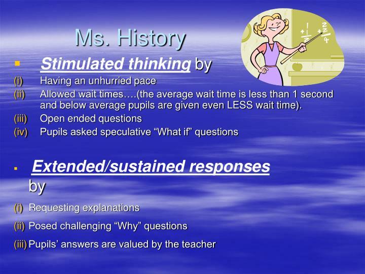 Ms. History