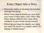 every object tells a story1