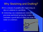 why sketching and drafting