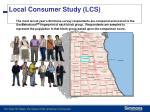 local consumer study lcs1