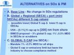 alternatives on sox pm