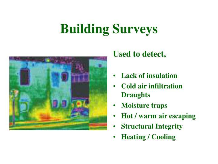Building Surveys