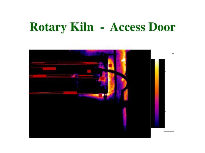 Rotary Kiln  -  Access Door