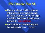us citizens not sl