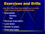 exercises and drills1