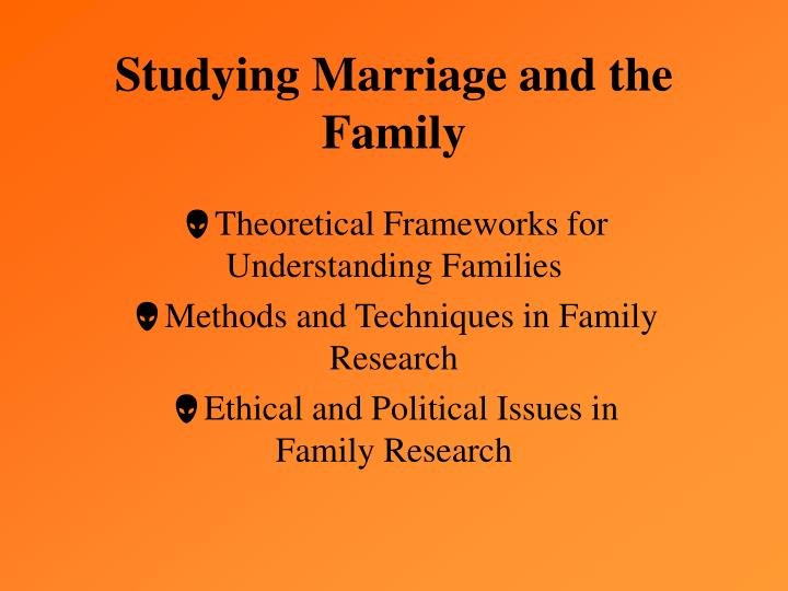 a study of sociology family
