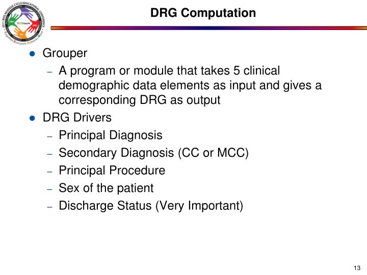 DRG Computation