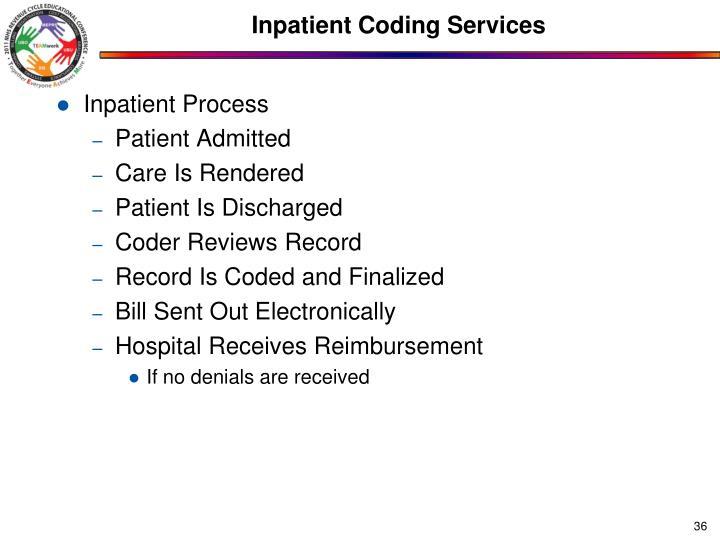 Inpatient Coding Services