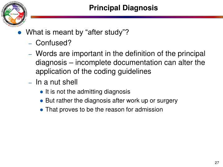 Principal Diagnosis