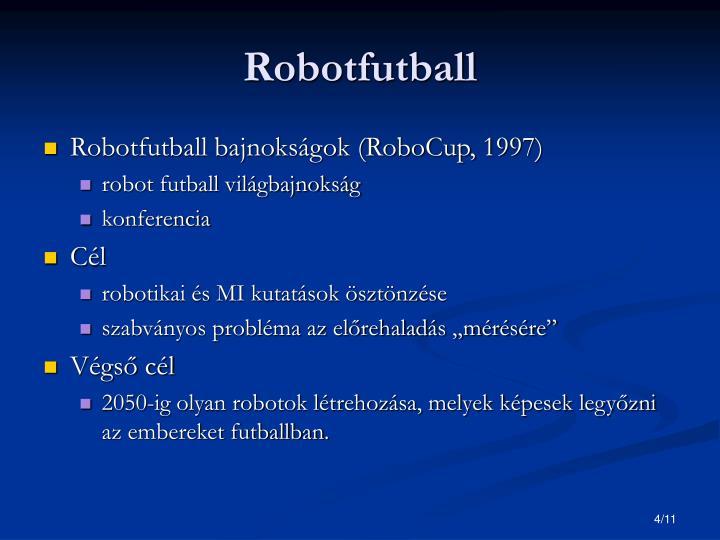 Robotfutball