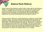 balance rock rollover5