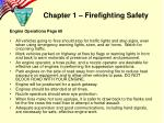 chapter 1 firefighting safety1