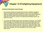 chapter 15 firefighting equipment5