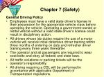 chapter 7 safety1
