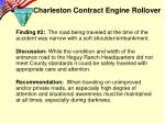 charleston contract engine rollover4