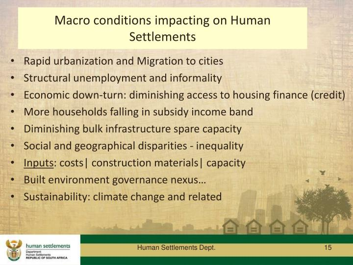 Rapid urbanization and Migration to cities