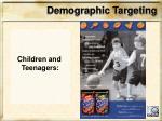 demographic targeting4