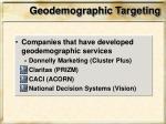 geodemographic targeting1