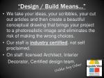 design build means