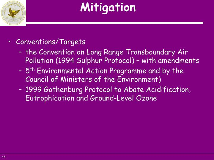 Conventions/Targets