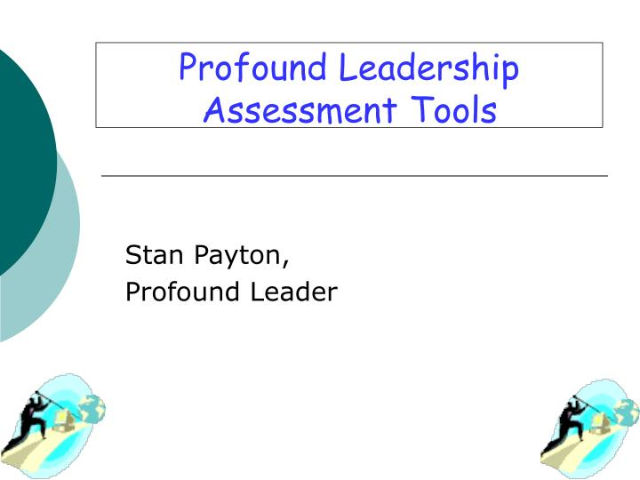 profound leadership assessment tools