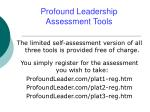 profound leadership assessment tools5