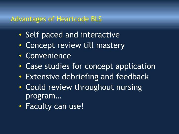 Advantages of Heartcode BLS