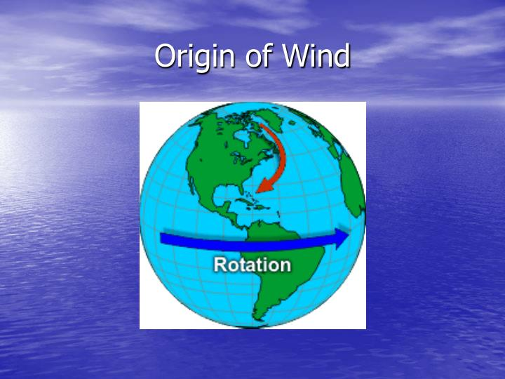 Origin of Wind
