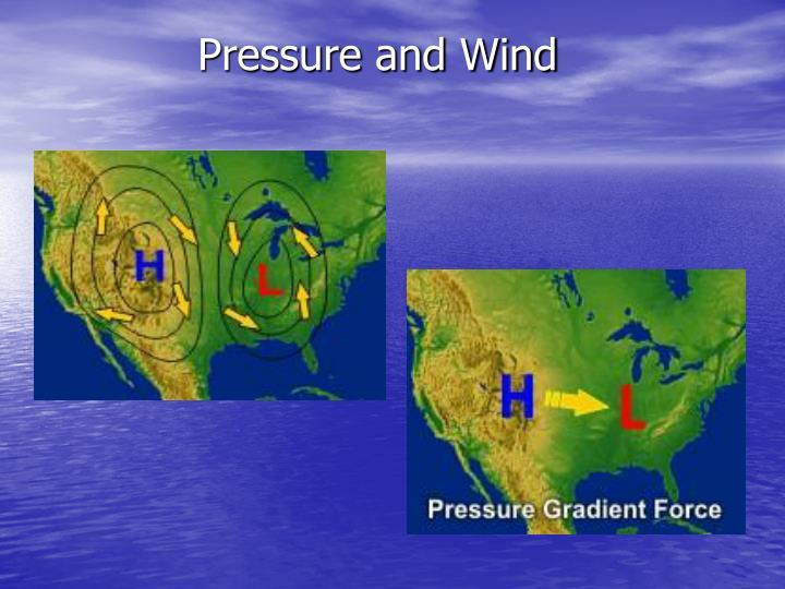 Pressure and Wind