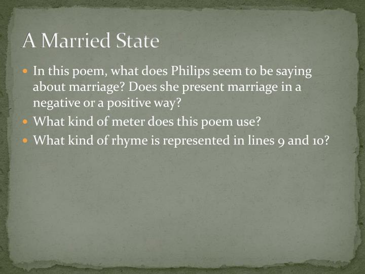 A Married State