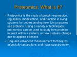 proteomics what is it
