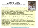 zlata s diary an excerpt from a chat with zlata on kidlink irc 1995