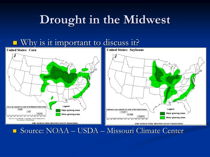 Drought in the midwest1