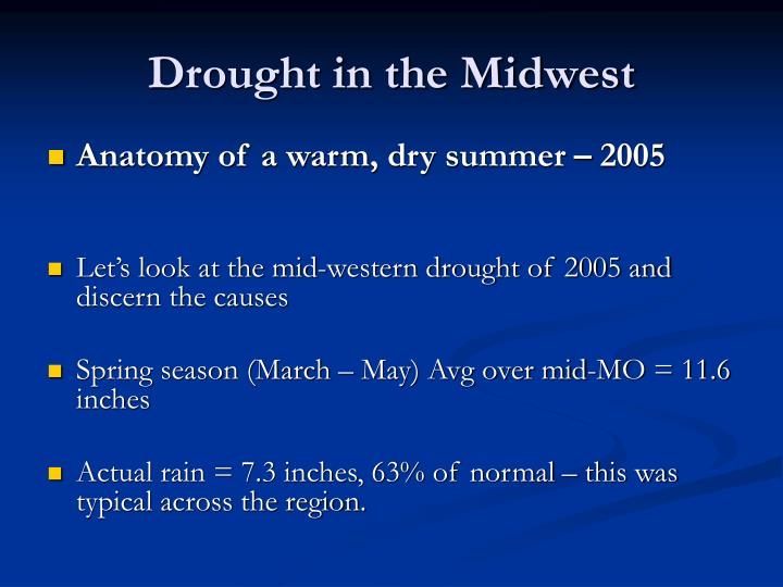 Drought in the midwest2