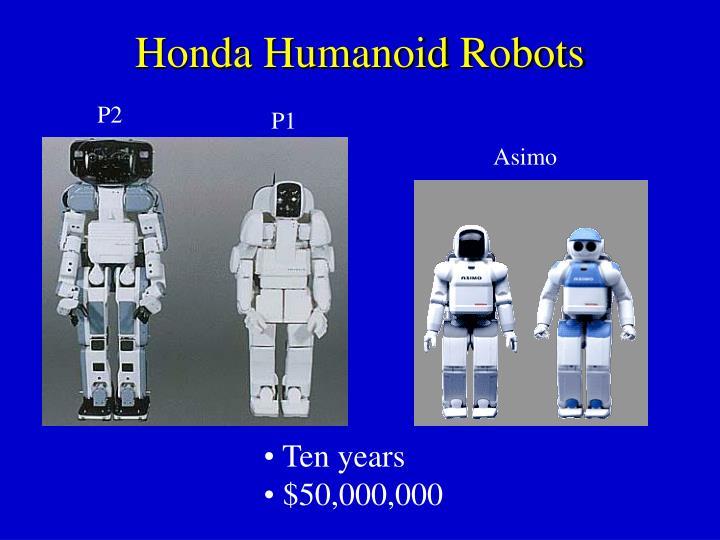 Honda Humanoid Robots