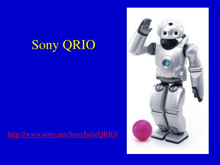 Sony QRIO