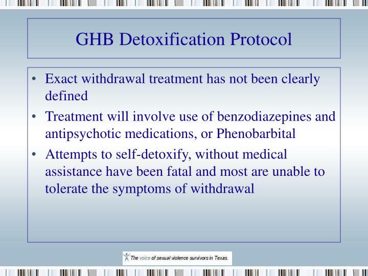 GHB Detoxification Protocol