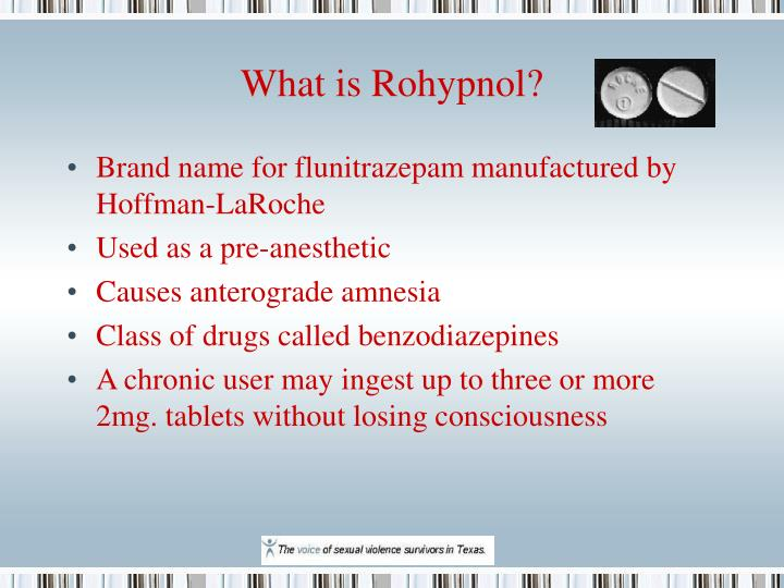 What is Rohypnol?