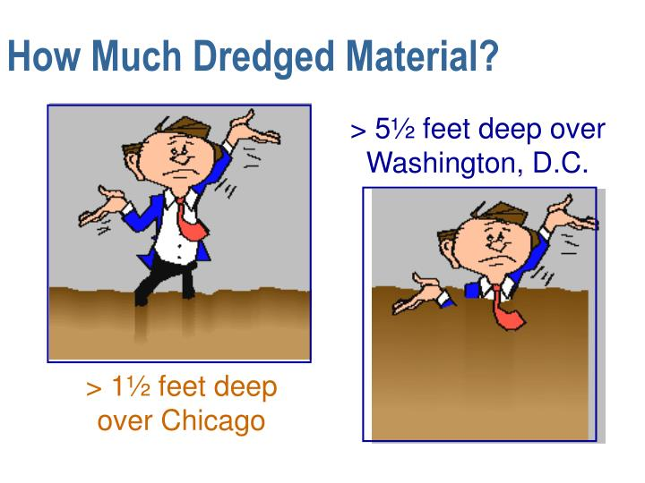 How Much Dredged Material?
