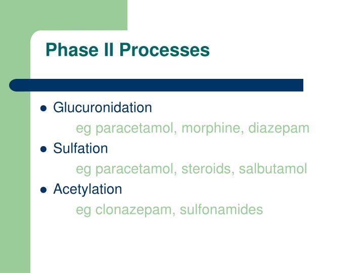 Phase II Processes