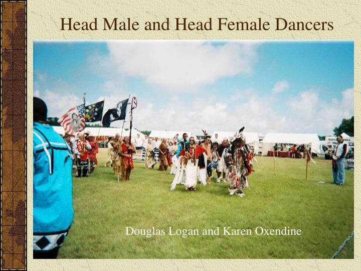 Head Male and Head Female Dancers