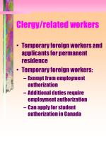 clergy related workers1