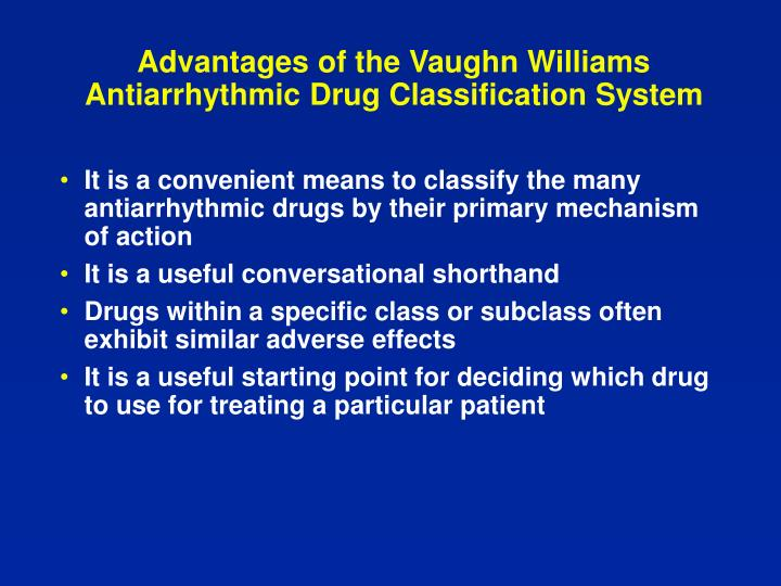 Advantages of the Vaughn Williams
