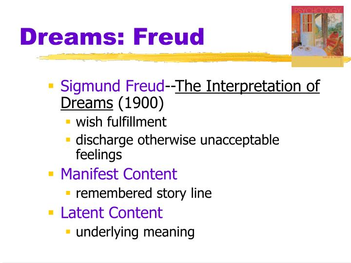 Dreams: Freud