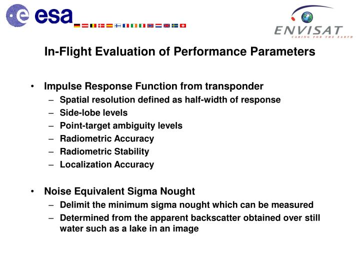 Impulse Response Function from transponder